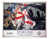 Stirling, LMS, c.1923-1947 Posters by Maurice Greiffenhagen