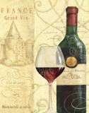 Wine Passion I Prints by Daphne Brissonnet