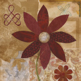 Contemporary Floral I Prints by  Nan
