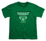 Youth: Batman BB-Green Lantern Shield T-shirts