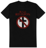 Bad Religion- Distressed Crossbuster Shirts