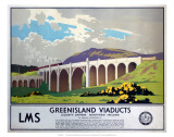 Greenisland Viaducts, LMS, c.1923-1947 Prints