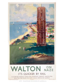 Walton-on-Naze, LNER c.1930 Prints