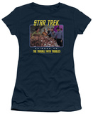 Juniors: Star Trek Original-The Trouble Tribbles T-shirts