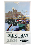 Peel Castle, Isle of Man, BR, c.1949 Prints by Charles Pears