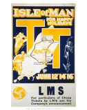 Isle of Man, LMS, c.1923-1947 Prints