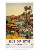 Isle of Skye, LNER, c.1939 Affiches