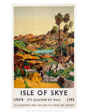 Isle of Skye, LNER, c.1939 Prints