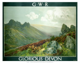 Glorious Devon, GWR, c.1923-1947 Posters