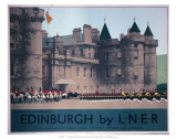 Holyroodhouse, Edinburgh, LNER, c.1930 Poster