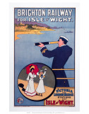 Brighton Railway for the Isle of Wight, LBSCR, c.1910 Posters