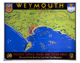 Weymouth and District, Dorset, SR/GWR, c.1938 Posters