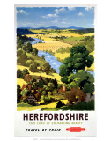 Herefordshire, BR, c.1960 Prints