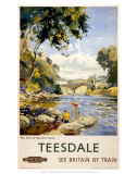 Teesdale, BR (NER), c.1958 Posters