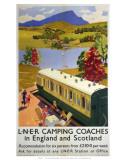 LNER Camping Coaches, LNER, c.1939 Prints