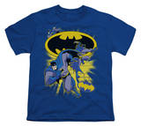 Youth: Batman BB-Action Collage Shirt