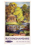 Stowe, Buckinghamshire, BR (ER), c.1950s Posters