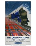 The Queen of Scots, BR,1950s Art