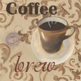 Coffee Brew Posters by Paige Davis