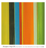 Hampton Stripe III Poster by Fran Chandler