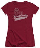Juniors: Star Trek-Red Squadron Sport T-shirts
