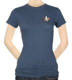 Juniors: Star Trek-DS9 Science Emblem Shirt