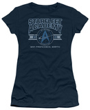 Juniors: Star Trek-Starfleet Academy Earth T-Shirt