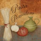 Pasta Pomodor Posters af Jane Carroll