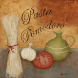 Pasta Pomodor Posters by Jane Carroll