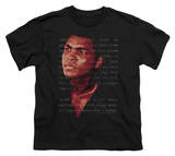 Youth: Ali-Champion's Speech Shirt