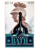 Historic Bath, GWR/LMS, c.1939 Print by Frank Newbould
