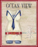 Ocean View Print by Paul Brent