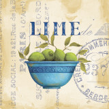 Zest of Limes Posters by Daphne Brissonnet