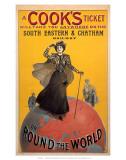 A Cooks Ticket, SE&CR, c.1910 Kunstdrucke
