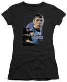 Juniors: Star Trek-Spock T-shirts