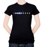 Juniors: The Universe-Logo T-shirts