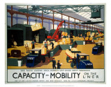 Capacity/Mobility on the LNER, LNER, c.1933 Posters