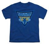 Youth: Batman BB-Blue Beetle Shield T-shirts