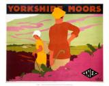 Yorkshire Moors, LNER, c.1923-1947 Prints