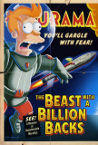 Futurama: The Beast with a Billion Backs Print