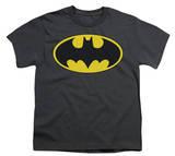 Youth: Batman-Classic Bat Logo Shirt
