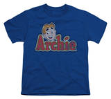Youth: Archie Comics-Distressed Archie Logo Shirt