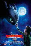 How to Train Your Dragon - Romanian Style Poster
