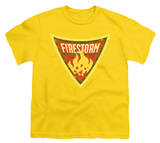 Youth: Batman BB-Firestorm Shield T-shirts