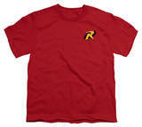 Youth: Batman-Robin Logo T-shirts