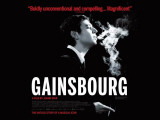 Affiche du film Gainsbourg (Vie h&#233;ro&#239;que), film de Joann Sparr, 2011, C&#233;sar 2011 du Meilleur Premier Film &amp; Meilleur Acteur Photographie