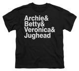 Youth: Archie Comics-Ampersand List T-shirts
