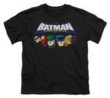 Youth: Batman BB-Head Lineup T-shirts