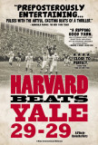 Harvard Beats Yale 29-29 Posters