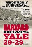 Harvard Beats Yale 29-29 Posters